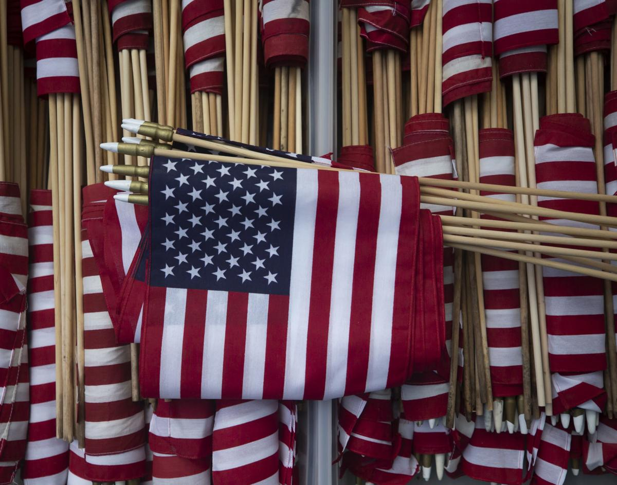 Heights Elementary Flags for Veterans
