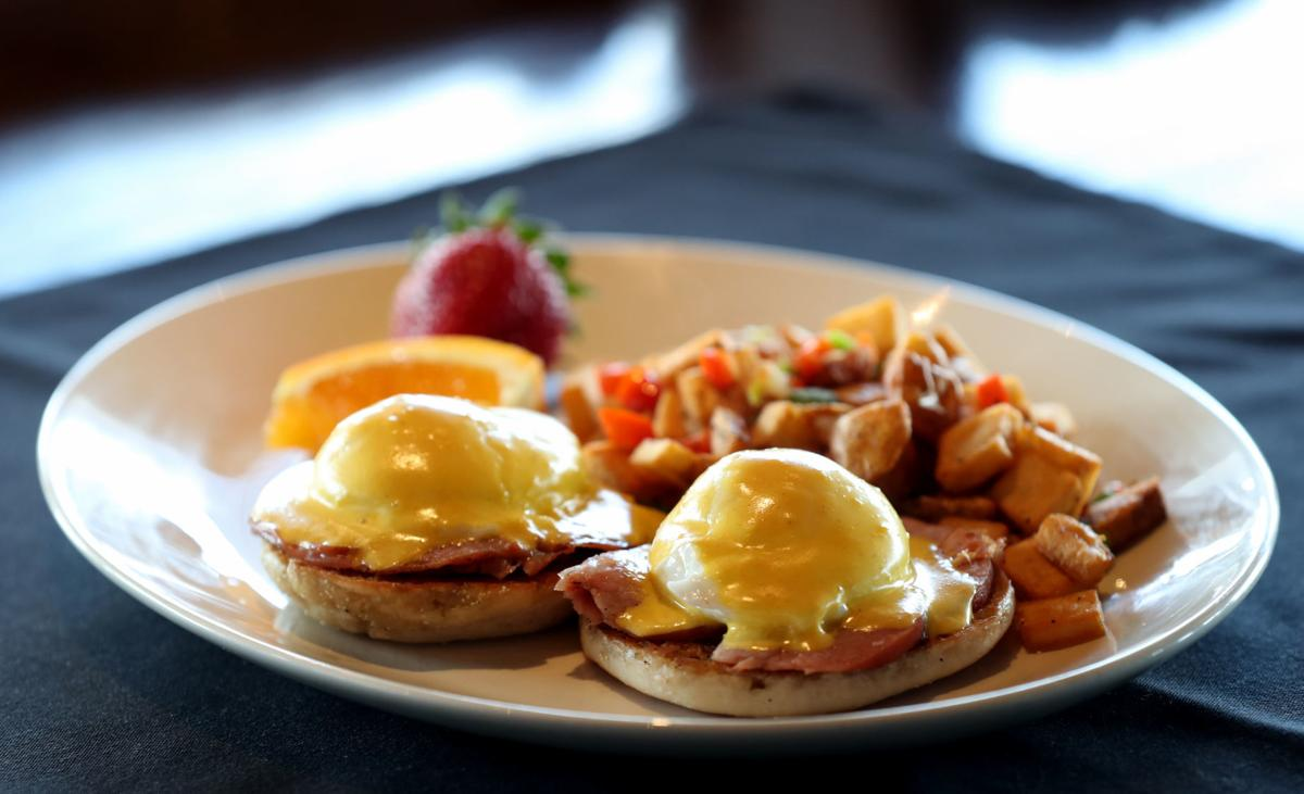Eggs Benedict for Mother's Day