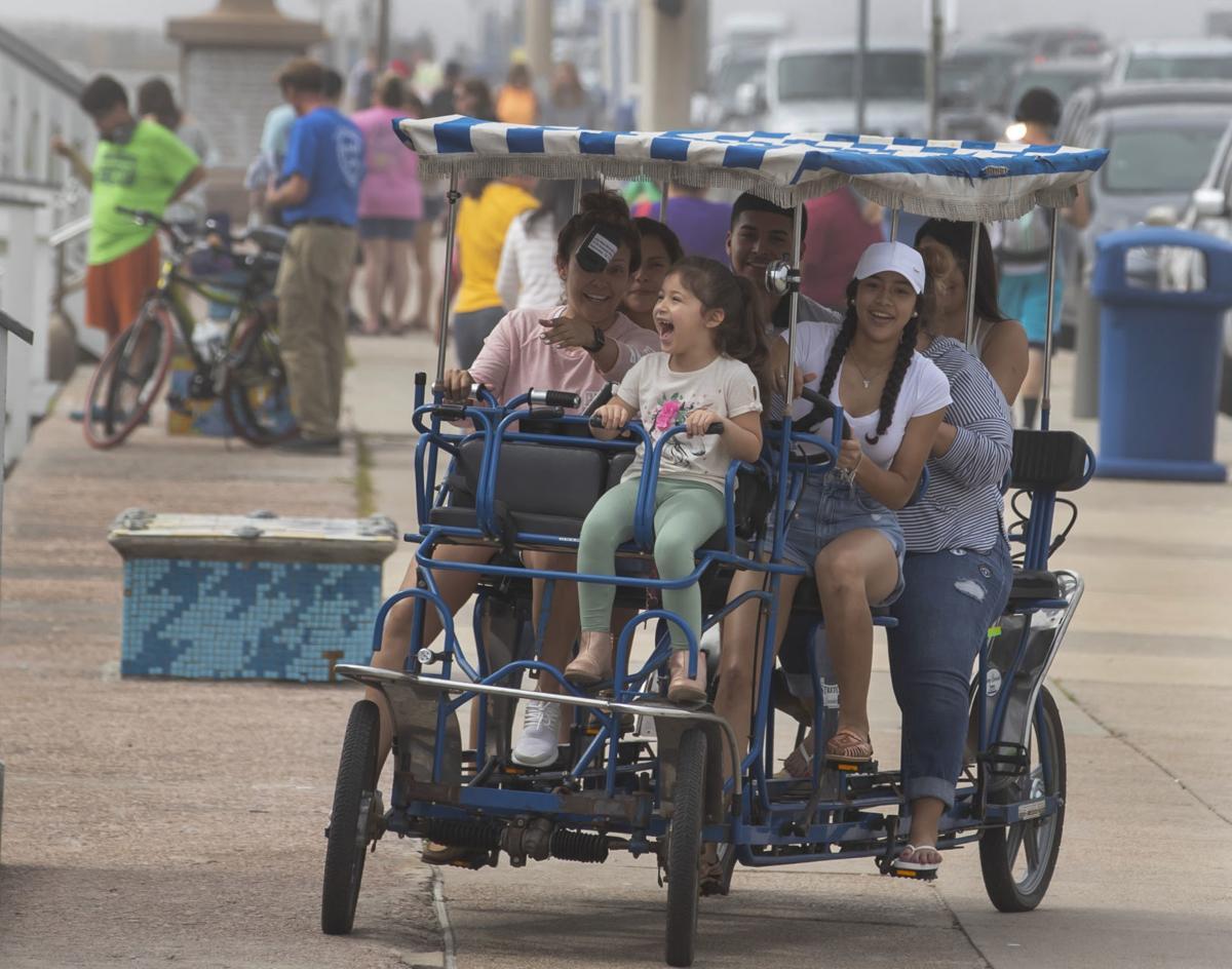 Galveston Spring Break Tourism