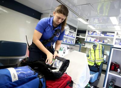 Galveston County EMS taking over in Kemah