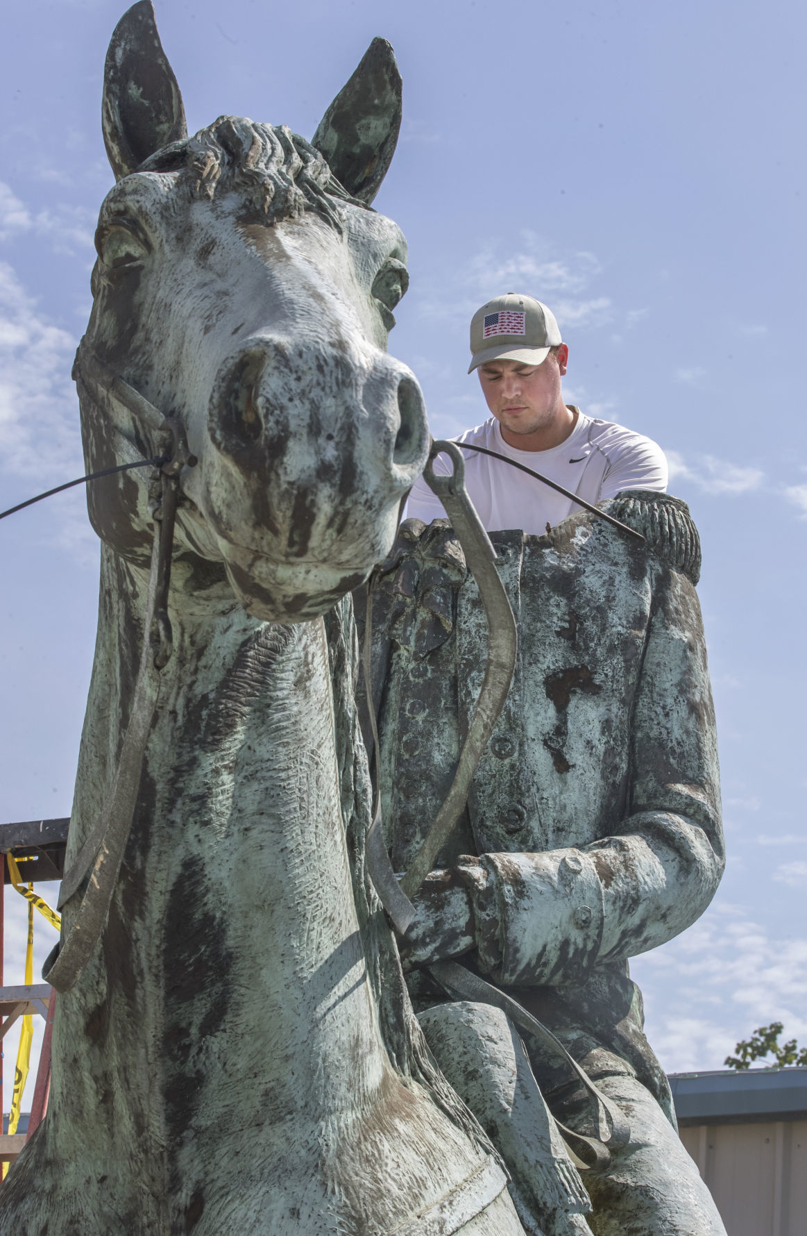 Galvez Statue