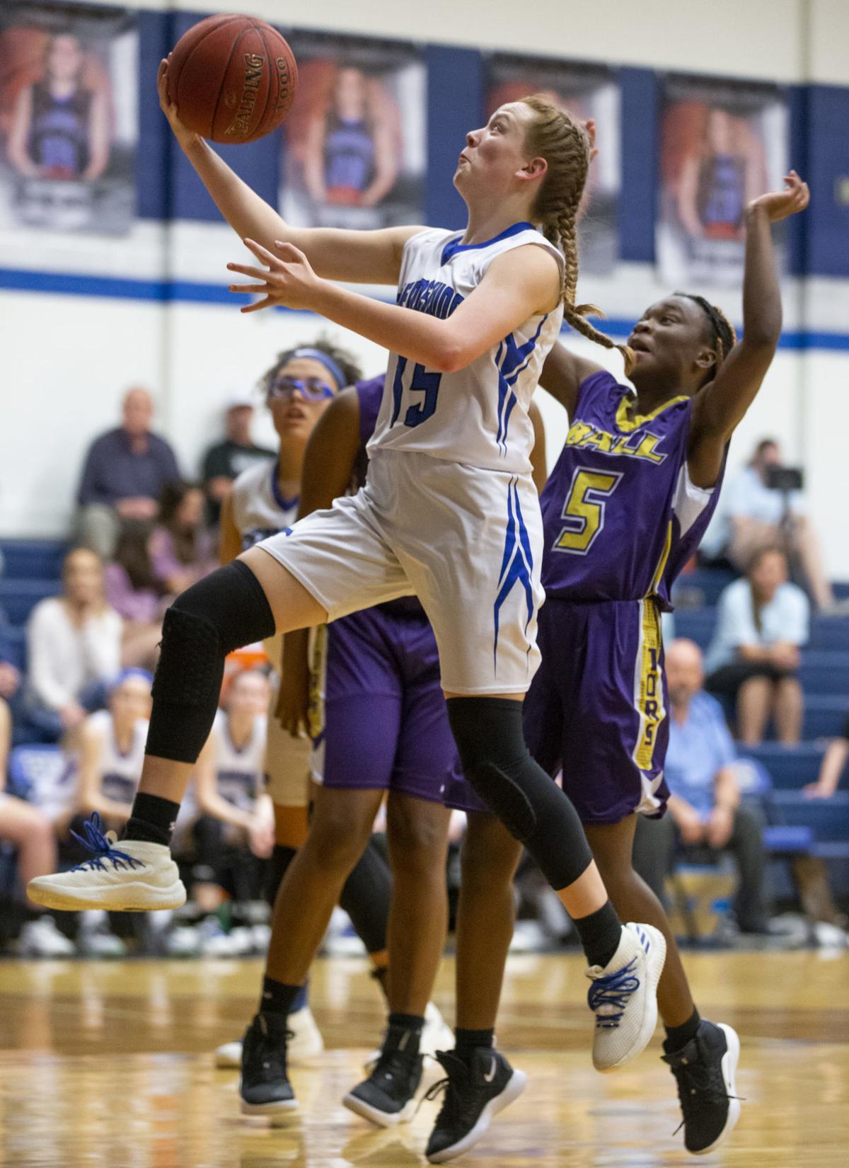 Ball vs Friendswood Girls Basketball