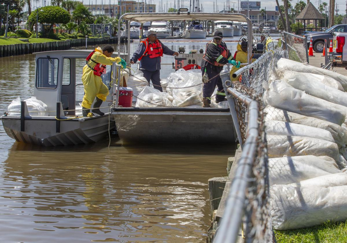 Barge Chemical Spill Cleanup