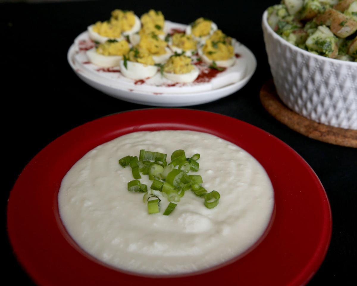 Potatoes star in cool summer recipes