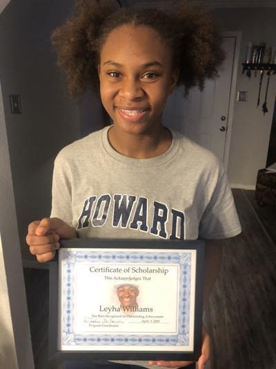 Leyha Williams awarded scholarship