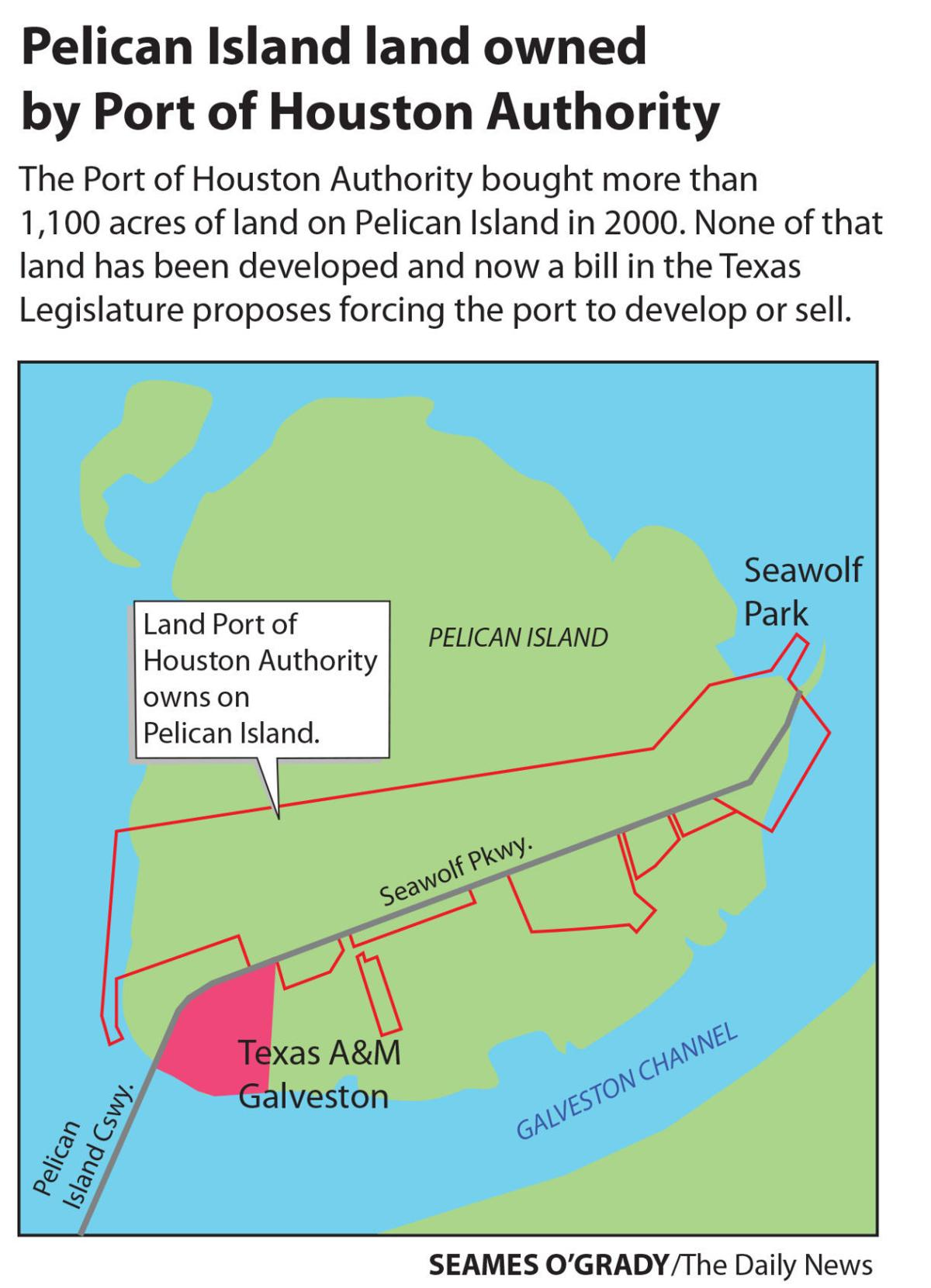 5044cca6a70 Bill seeks to compel development on Pelican Island