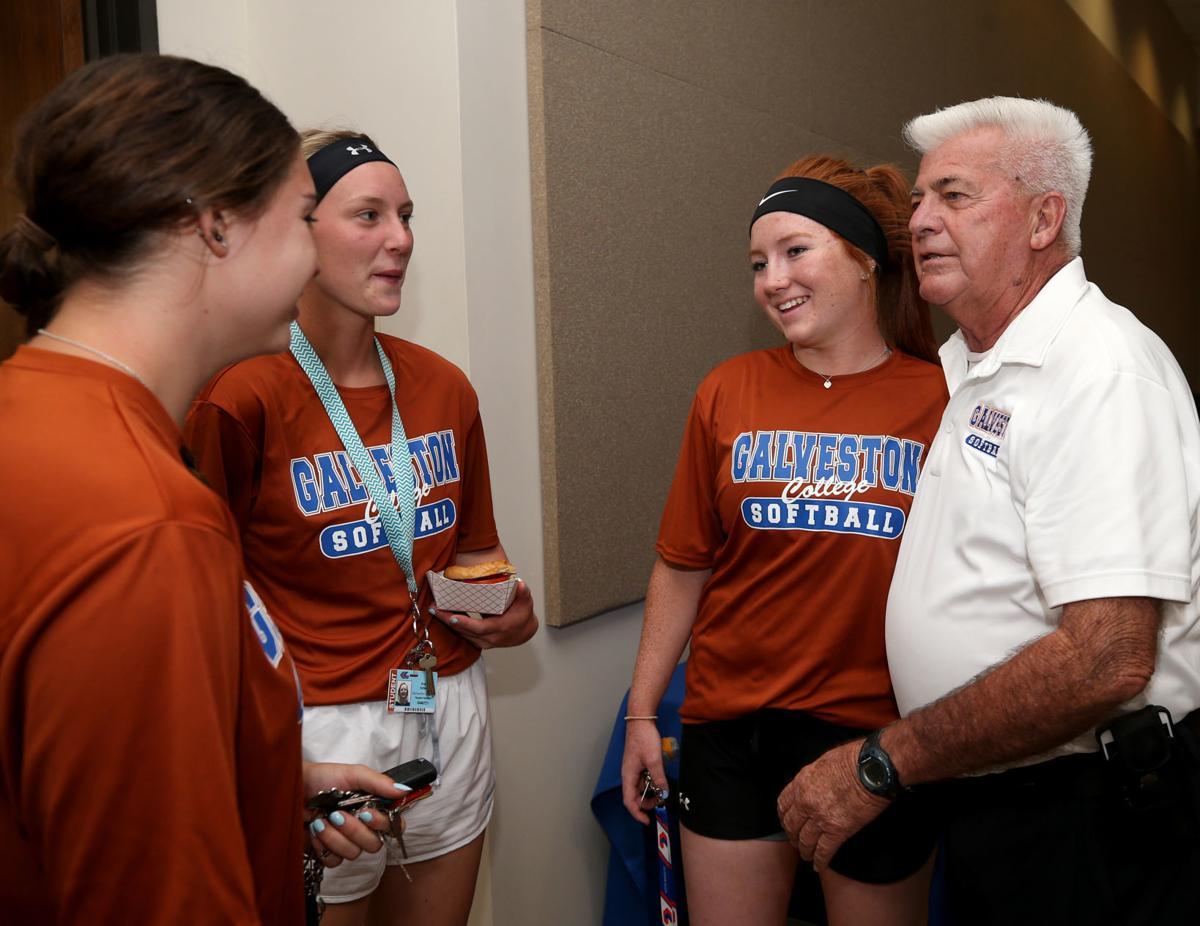 Longtime Galveston College sofball coach, AD Delcambre retires