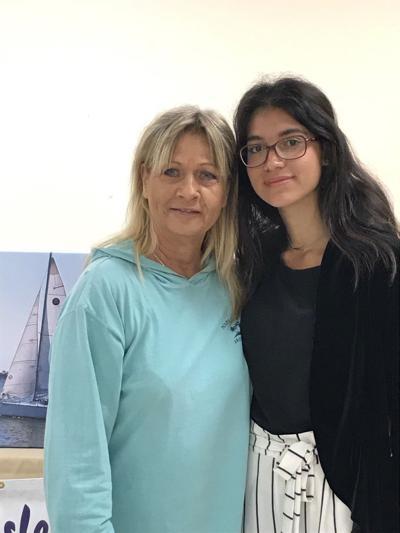 Hala Rawas wins scholarship