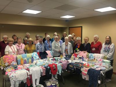 Winter Texans hold third annual baby shower