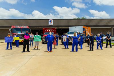EMS teams recognized by HCA Houston Healthcare Mainland