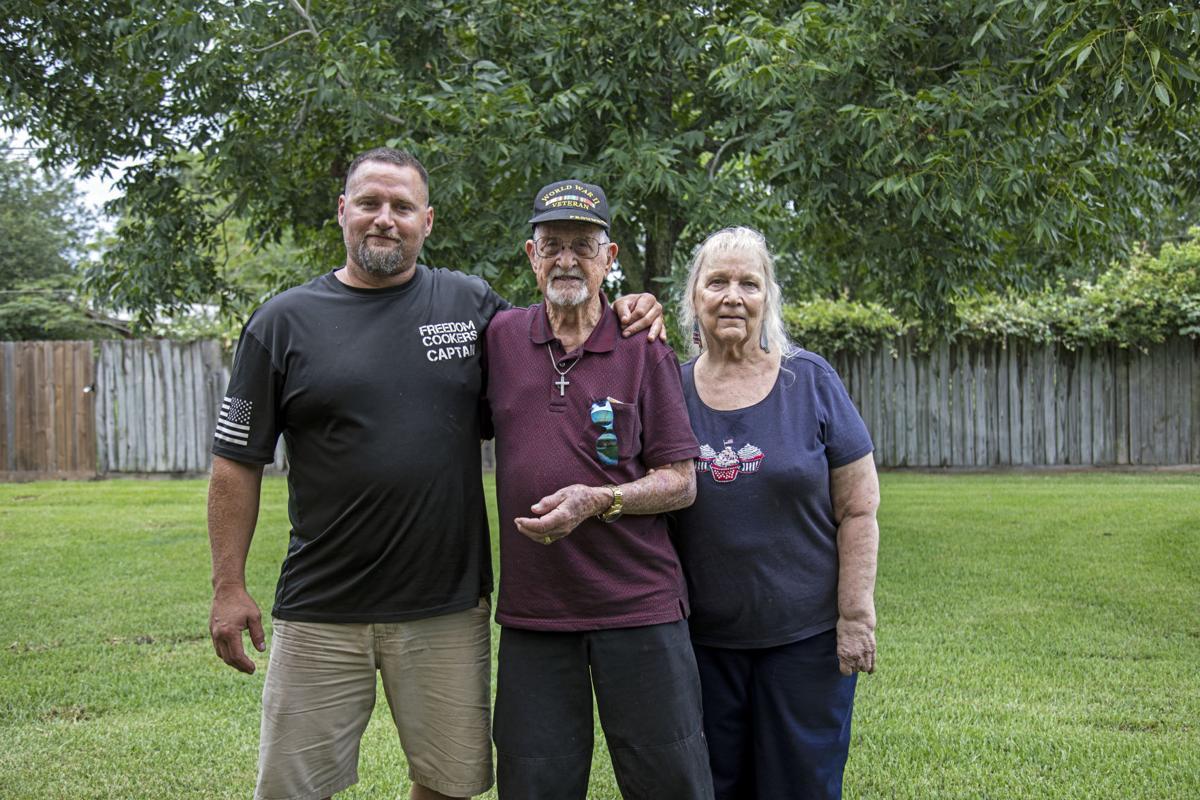 Texas City World War II veteran celebrates turning 100