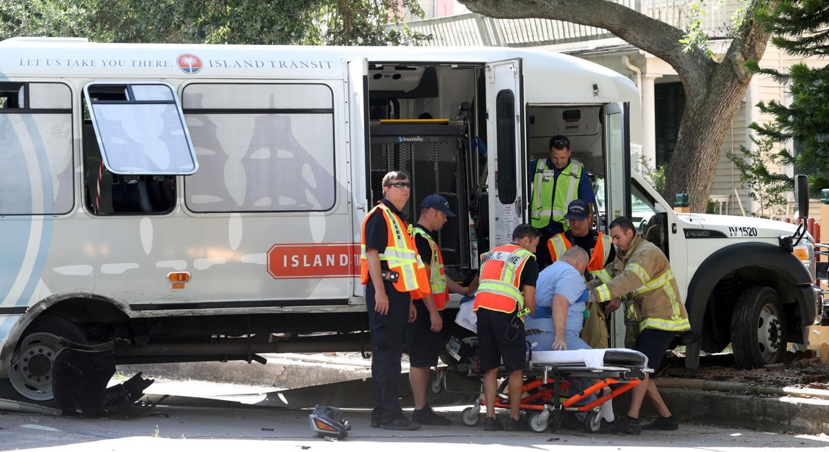 Several injured in wreck involving city bus