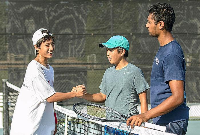 Friendswood tennis marathon