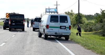 La Marque police, Sheriff's office investigate body on roadside