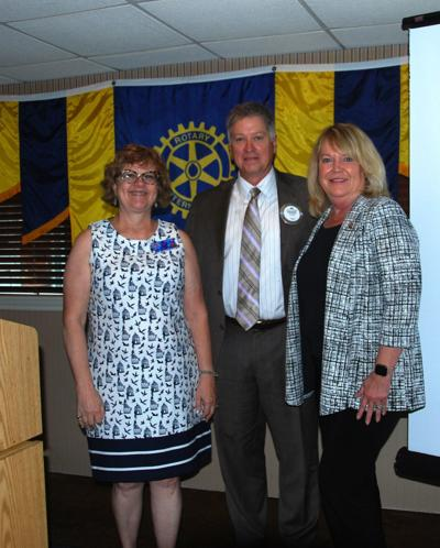 Marie Robb recognized as new Paul Harris Fellow