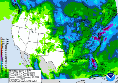168 Hour Day 1-7 QPF