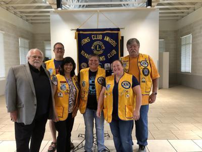 2019 Kemah Lions Club officers