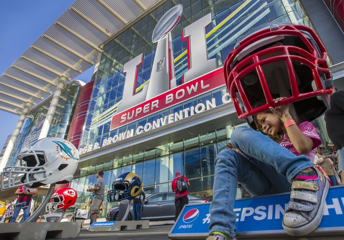 NFL Experience and Super Bowl Live