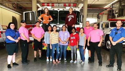 BHS HOSA group delivers appreciation baskets