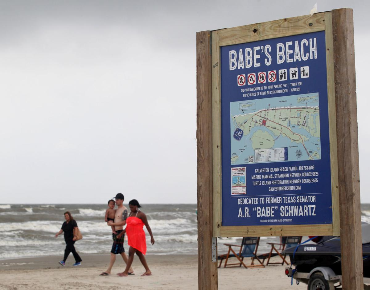 "Babe's Beach dedicated for former Texas Senator A.R. ""Babe"" Schwartz"
