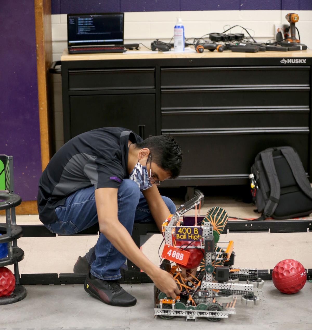 Ball High robotics team