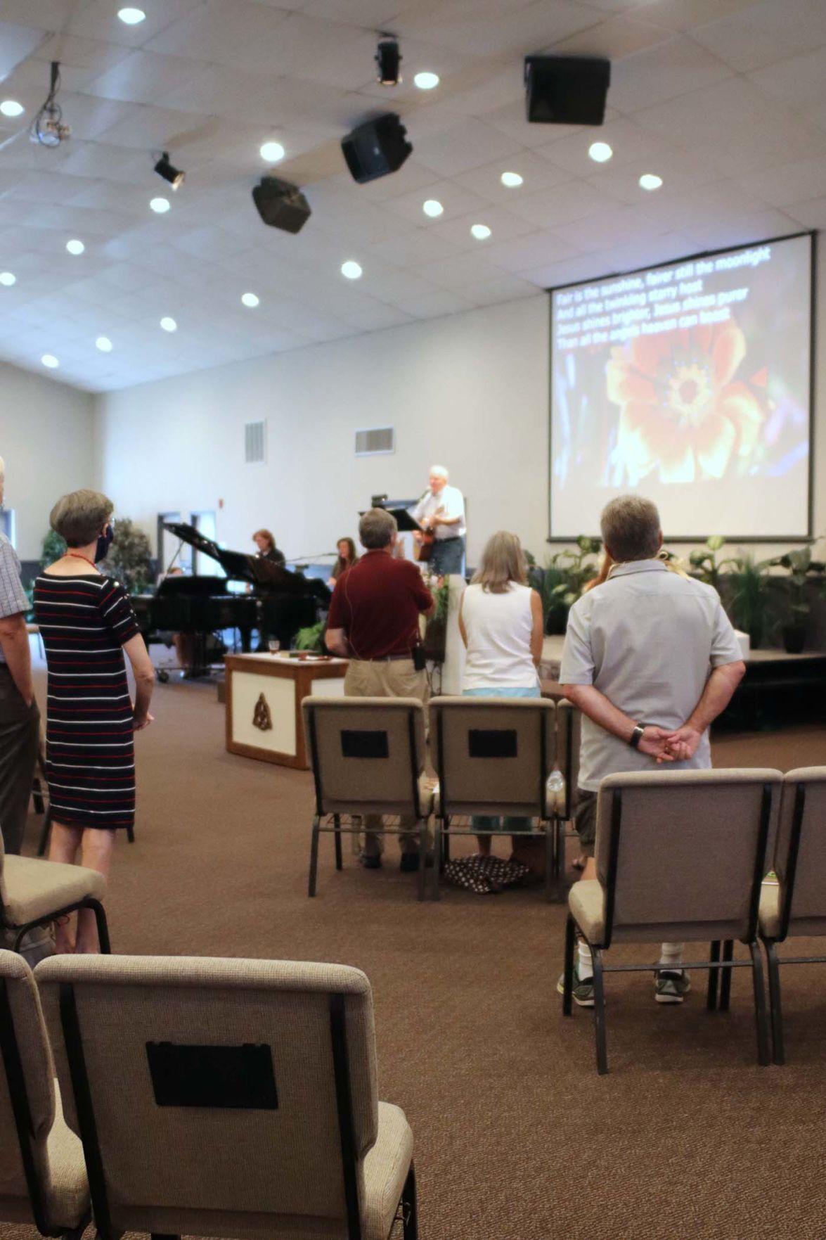 Our Faith COVID-19 preaching