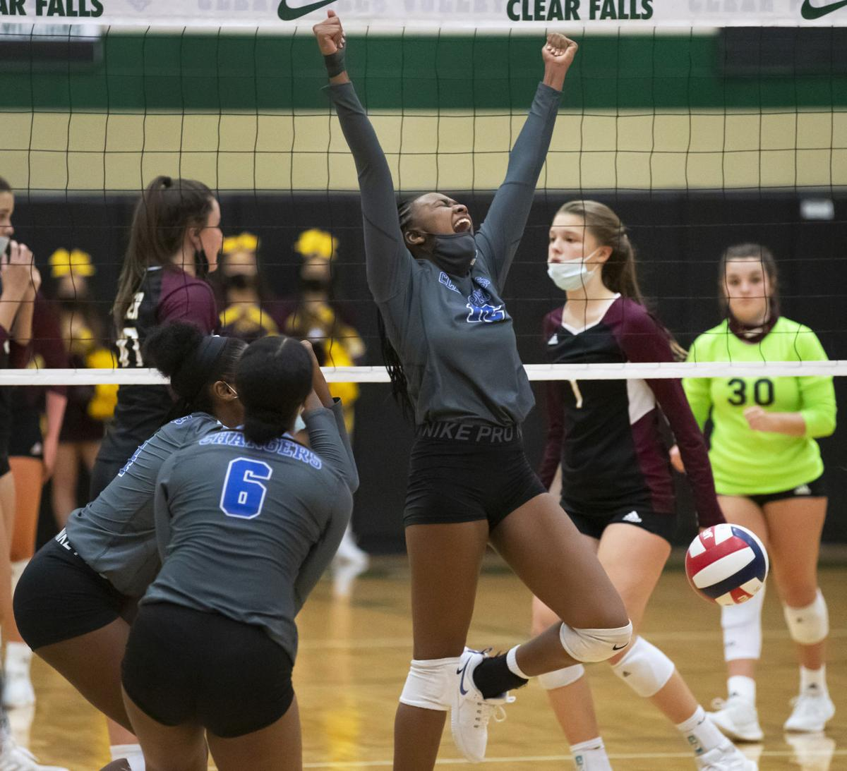 Clear Springs vs Deer Park Regional Quarterfinal Volleyball