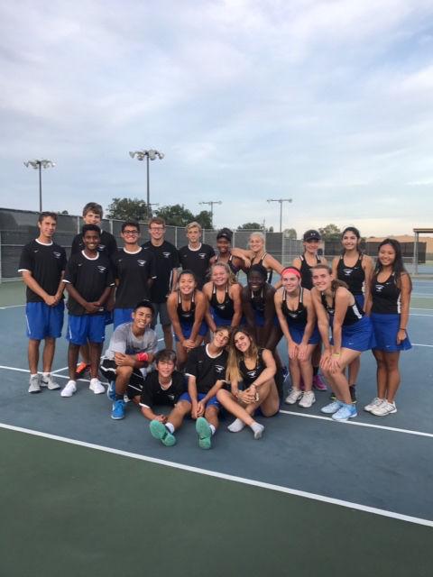 Friendswood tennis team