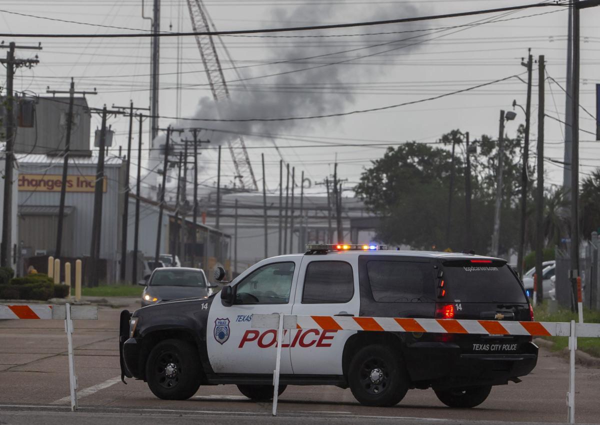 Texas City Plant Leak