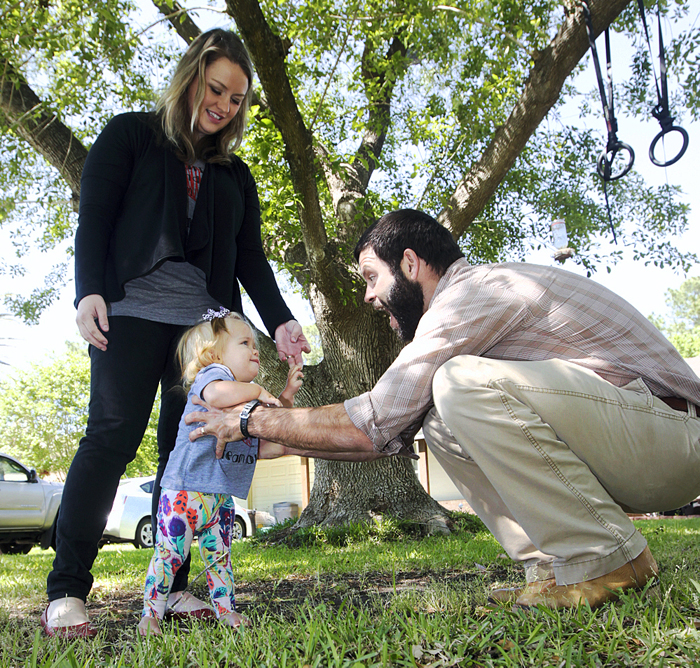 Saving Nola: Couple seeks help for 1-year-old with genetic ...