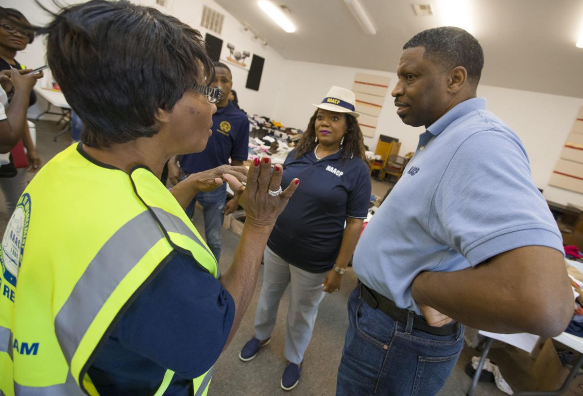 NAACP President Visits Dickinson