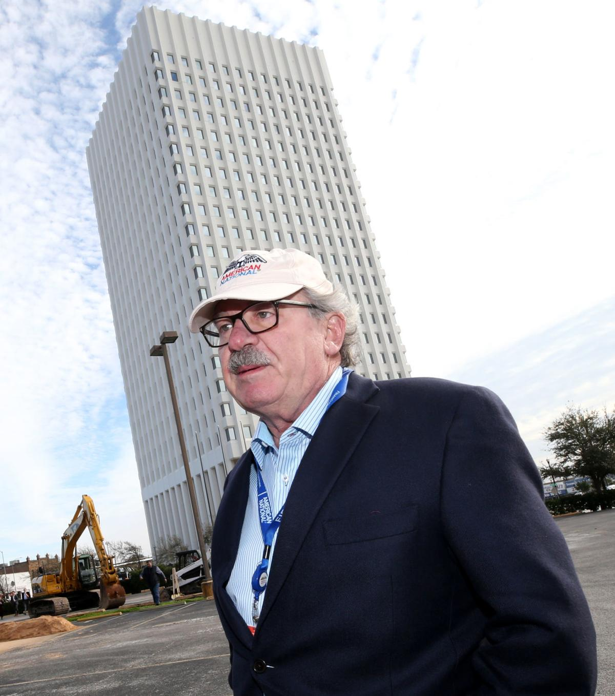 American National Breaks Ground On Parking Garage Plans Major Tower Renovation Biz Buzz The Daily News