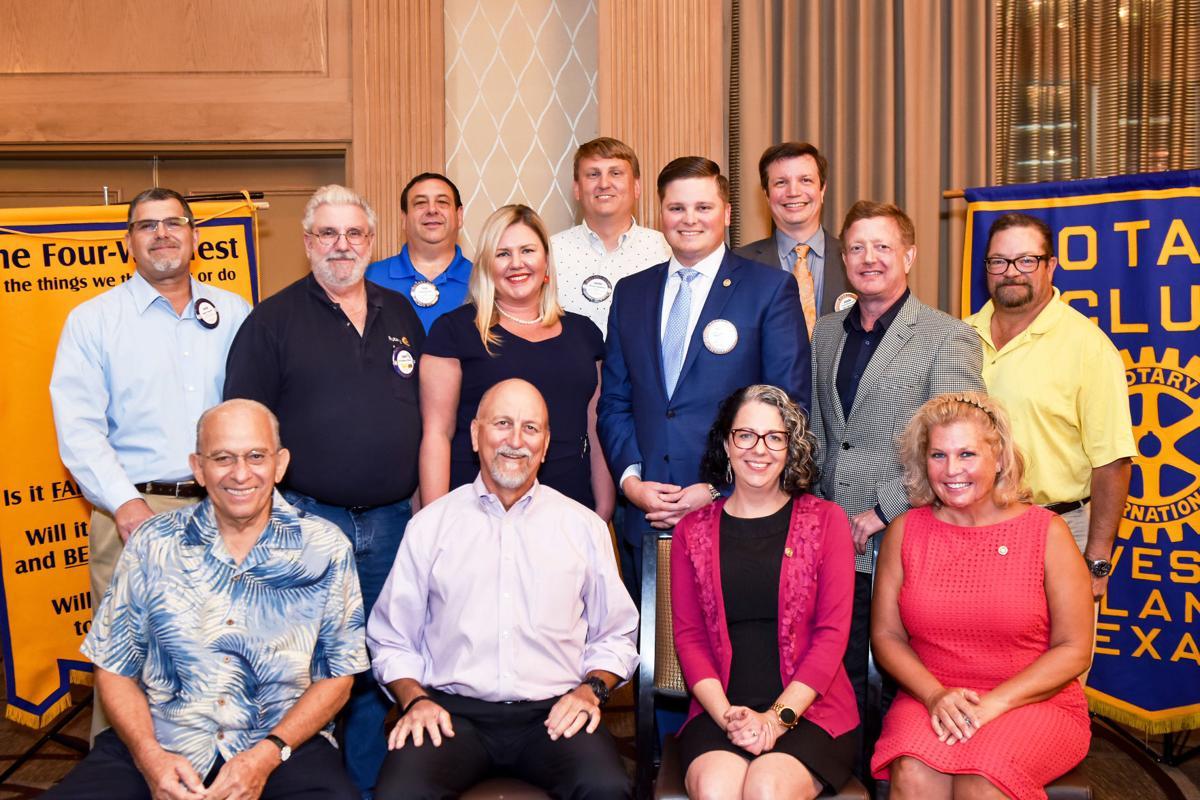 2019-20 Rotary Club of Galveston Island board