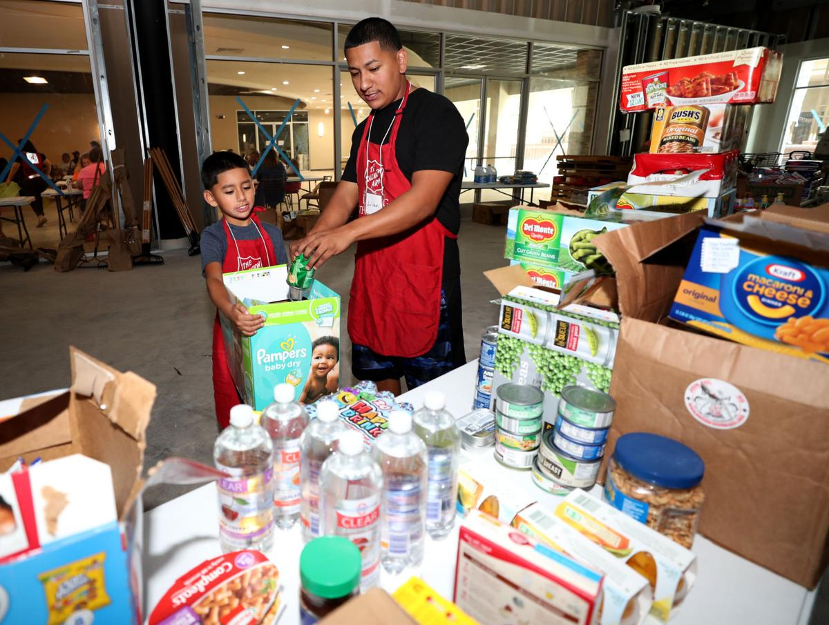 Salvation Army opens relief center in Texas City
