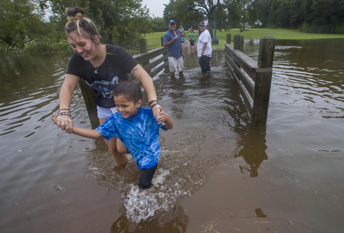 Clear Creek Rising As League City Braces For Flood Free