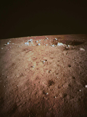 Moon's surface