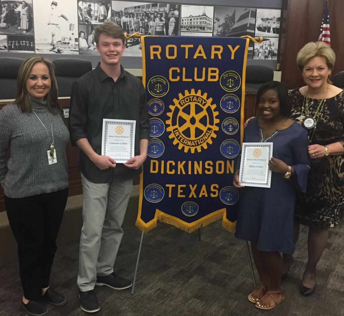 Junior rotarians recognized