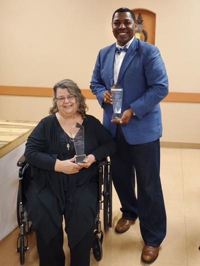 Collins, Childress win awards