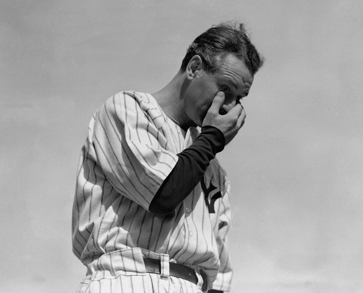 Yankees Lou Gehrig Tribute