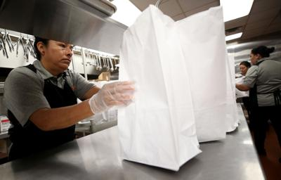 Food Service workers at Ball High School