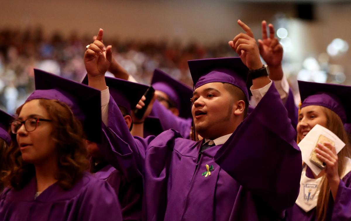 Photos Ball High School Commencement In Focus The Daily News