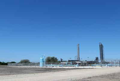 Kinder Morgan plant