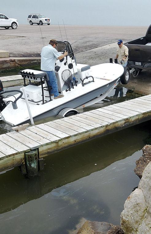 Boat ramps open