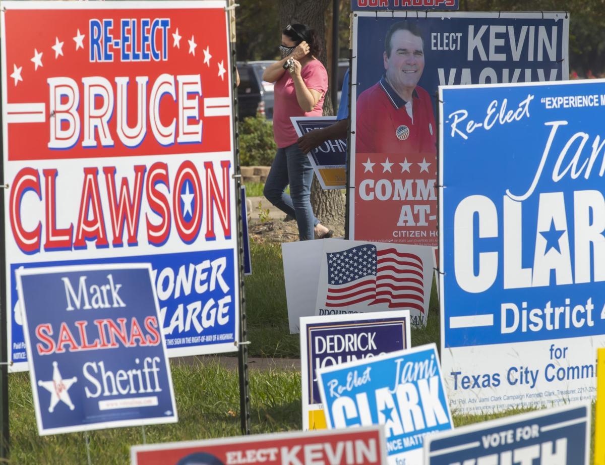 Galveston County Voting