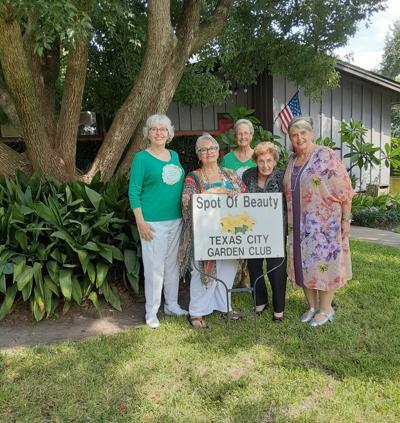 Texas City Garden Club 'spot of beauty' for September