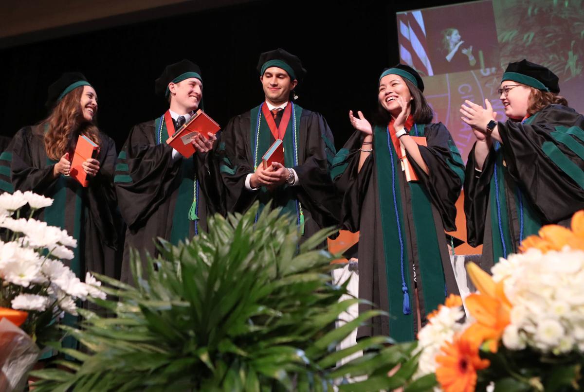 School of Medicine graduation