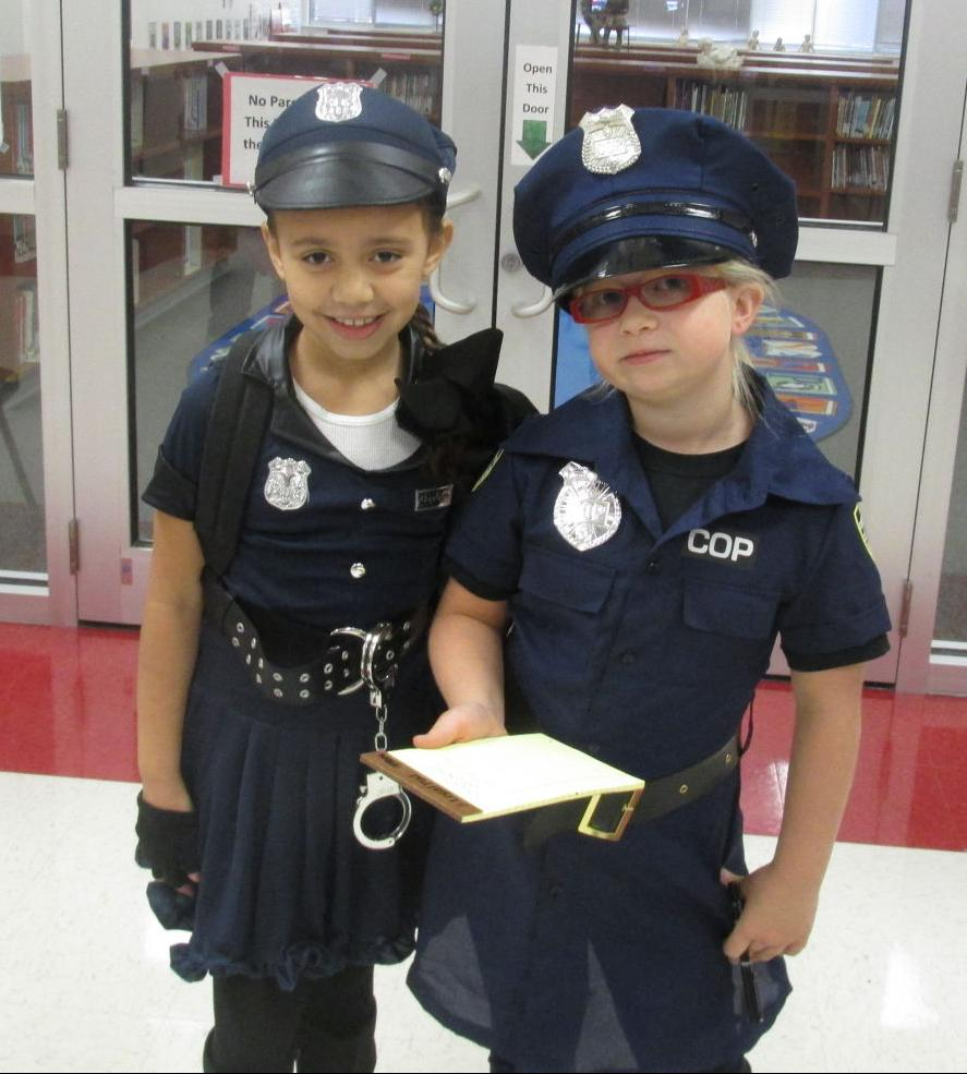 Two future police officers