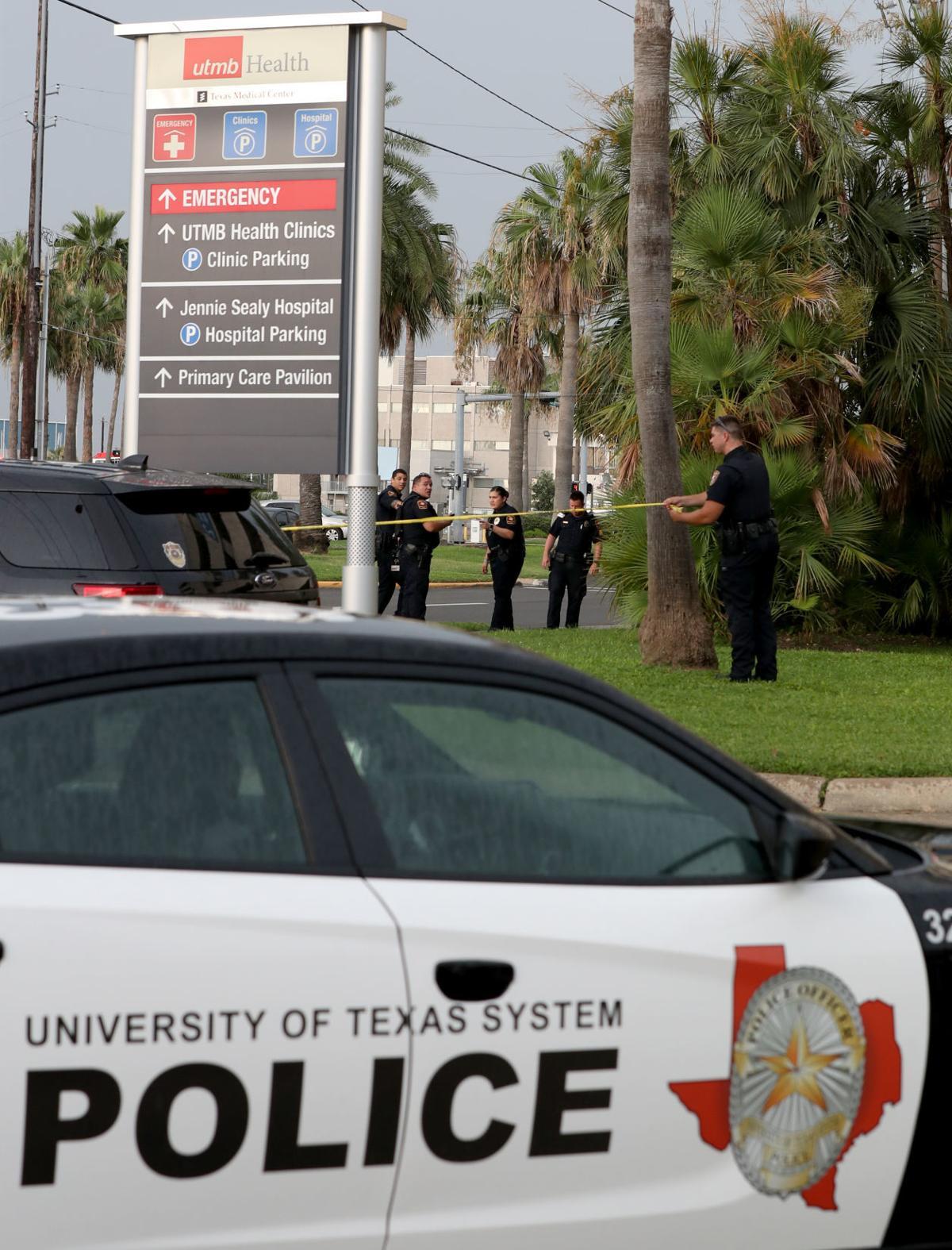 Officer involved shooting at UTMB