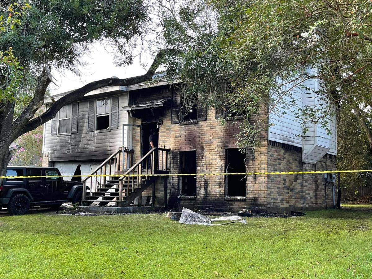 None injured as fire destroys two-story house in League City   Local News    The Daily News
