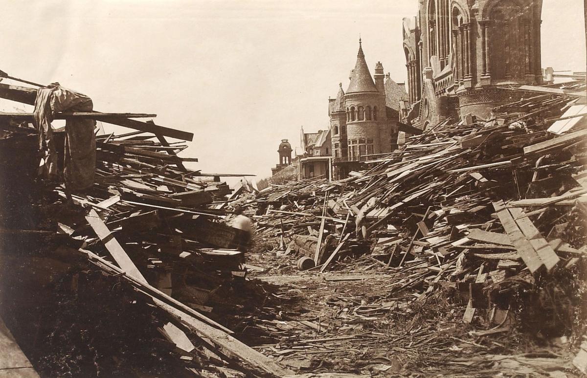 1900 Storm: 13th & Broadway